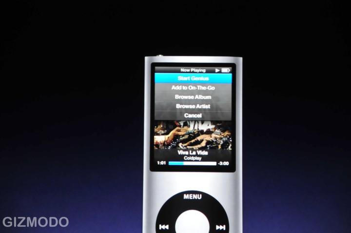 Nieuwe vierde generatie iPod nano