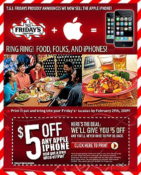 fridays iPhone deal