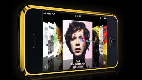 Gouden iPhone