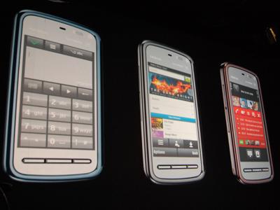 nokia touchscreen