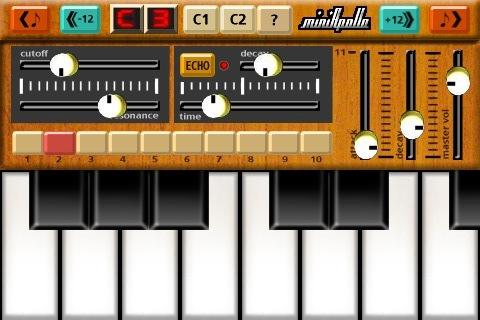 Het toetsenbord en de filters