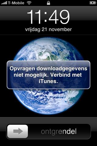 iPhone-problemen firmware 2.2