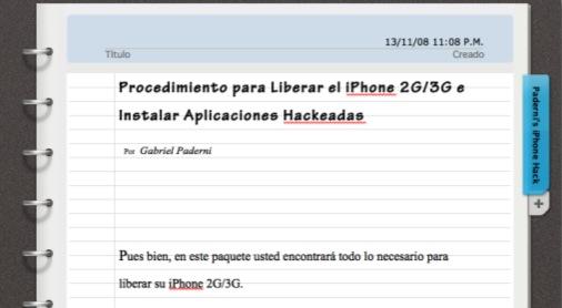 Handleiding Gabo's Free 3G Pack