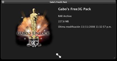 Gabo's 3G Pack