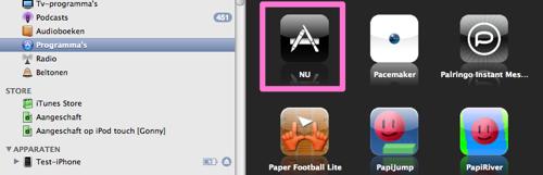 Programma's in iTunes