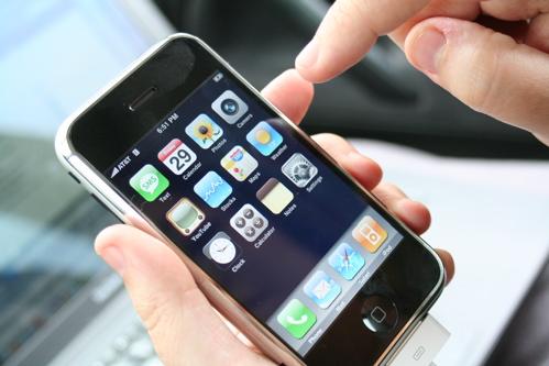 iPhone beginscherm