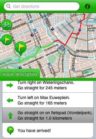 Bikeplanner for Amsterdam