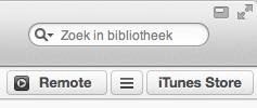 Remote koppelen in iTunes