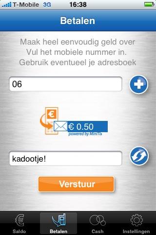 SMS-betalen.