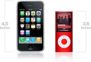 iPhone and iPod nano