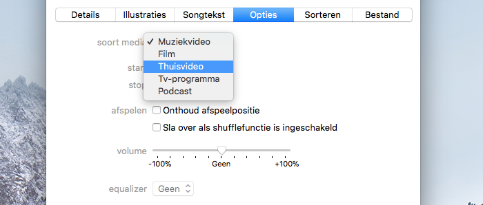 Video converteren in iTunes