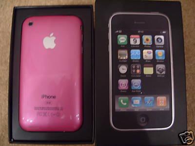 roze iphone
