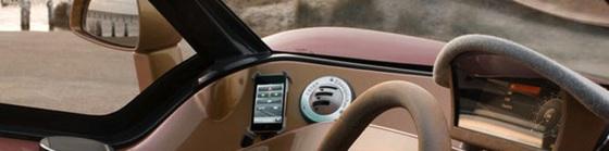 auto besturen met iphone