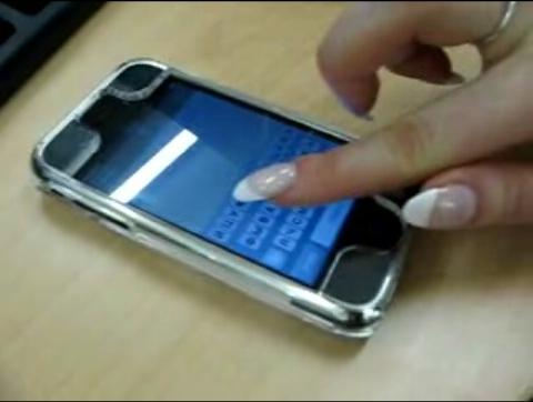 iphone lange nagels