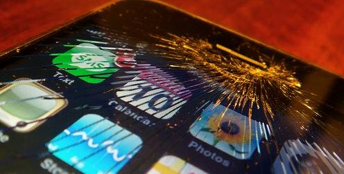 iphone scherm