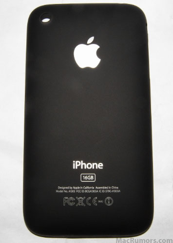 iphone behuizing zwart mat