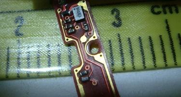 iPod shuffle chip