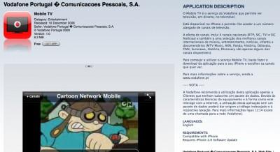 mobile tv vodafone portugal