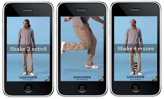 dockers shakable ads