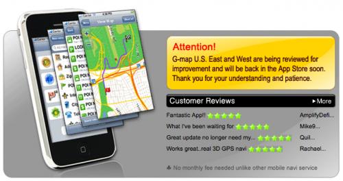 g-map gerucht