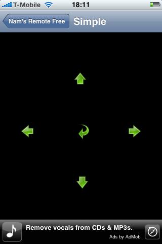 Nams Remote: simple