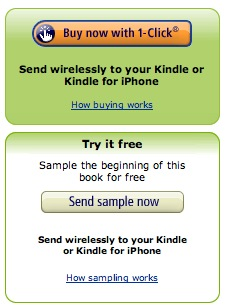 Kindle for iPhone 1-Click