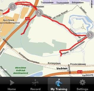 I Map My Run