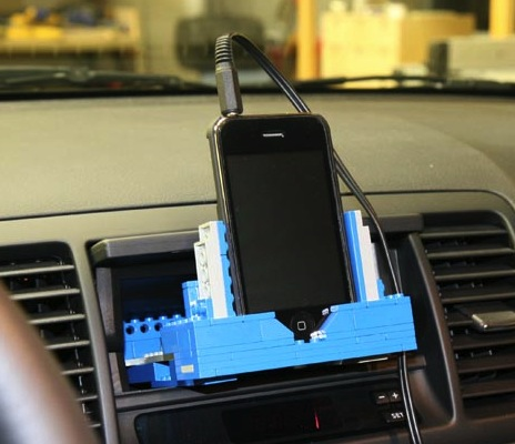 Lego iPhone autohouder