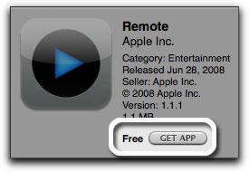 Koop een gratis applicatie.