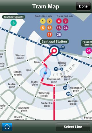 tram maps