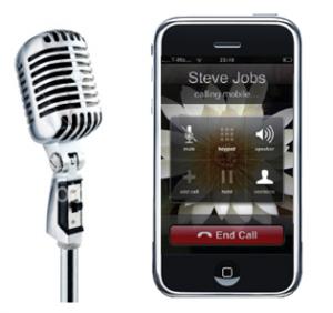 iphone spraakherkenning