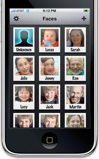 iphone faces