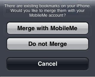 merge mobileme