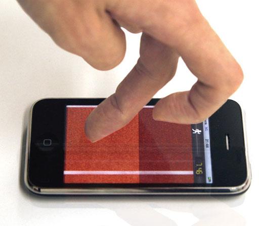 iphone finger olympics