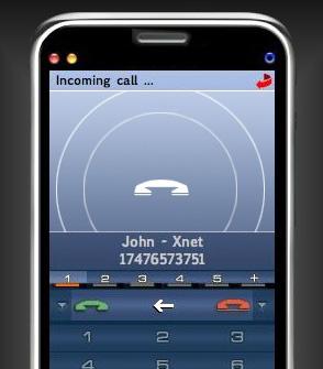 voip op iphone
