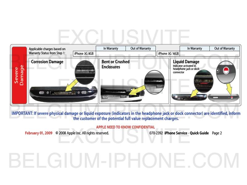 Apple garantie iPhone