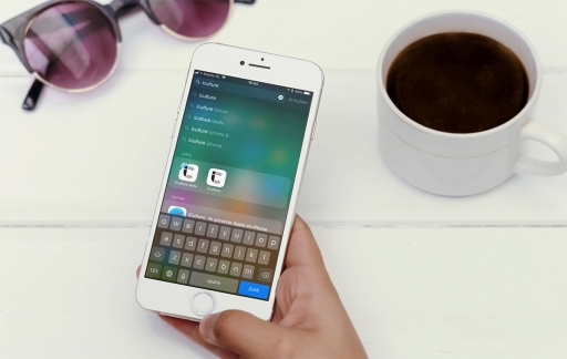 Spotlight gebruiken iPhone