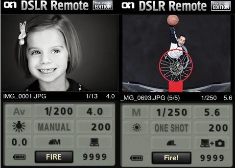 dslr remote camera