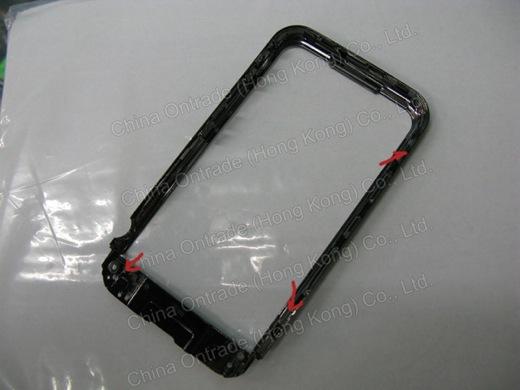 Omlijsting / inzet voor de nieuwe iPhone