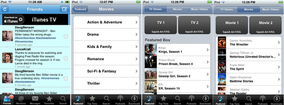 itunes tv series