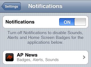 Push Notifications - AP News