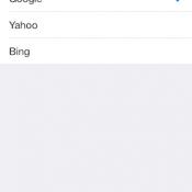 Standaard zoekmachine op iPhone wijzigen van Google naar Bing of Yahoo
