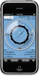 iphone compass