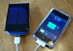solar charger iphone