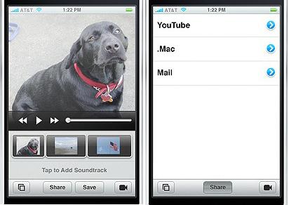 iphone imovie