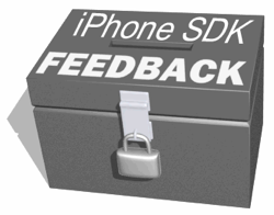 iphone sdk feedback