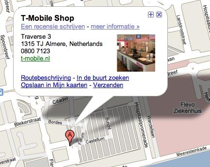 t-mobile shop almere