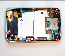 iphone 3g s board