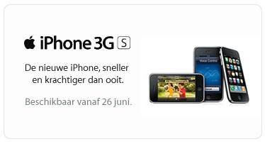 iphone 3g s belgie