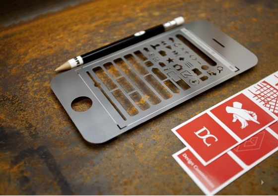iPhone Stencil Kit.